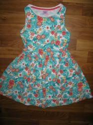 фирменные платья, сарафаны, юбки на 6-9 лет ч 1