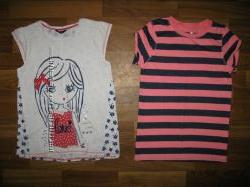 футболки и майки девочке на 9-13 лет