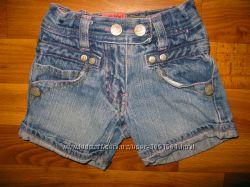 фирменные шорты и ромперы девочке на 1-3 года