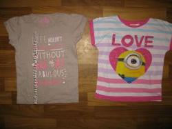 футболки и майки девочке на 3-6 лет часть 1