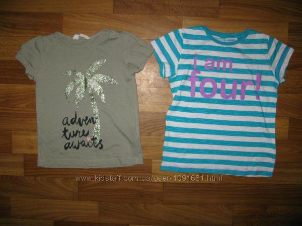 футболки и майки девочке на 3-6 лет часть 2