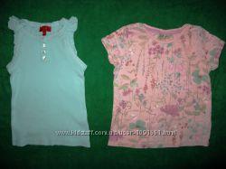 футболки и майки девочке на 1-3 года ч 3
