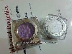 Лореаль Loreal тени серебристые белые фиолетовые пурпурные оригинал
