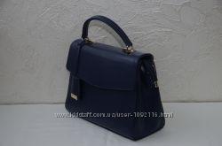 Стильная синяя женская сумка