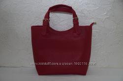 Стильная красная женская сумка