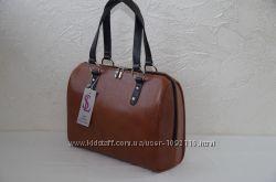 Стильная коричневая женская сумка
