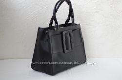Стильная бежевая женская сумка, две модели