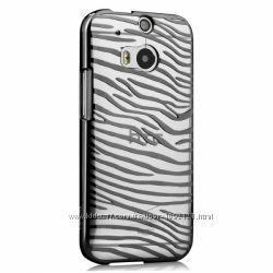 Пластиковый Чехол Накладка Vouni для на НТС HTC One M8