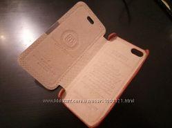 Чехол КОЖА книжка iCarer Luxury для на iPhone 5 5S SE