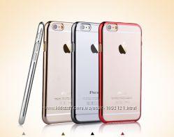 Высокопрочный Чехол пластик Devia Glimmer для на Айфон iPhone 6 Plus