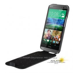Долговечный Чехол флип кожа Melkco для на НТС HTC One M8