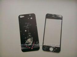 Найклейки плёнки для на переднюю и заднюю часть Айфон iPhone 5