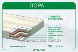 Детский беспружинный матрас Лора, Italfiex, 8, 12, 15 см.