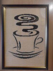 Картина крестиком Кофе1028-6