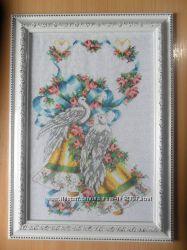 Картина крестиком Свадебная