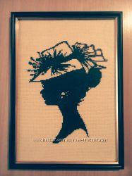 Картина крестиком Портрет 1031-04