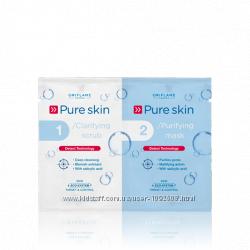 Скраб и очищающая маска для кожи лица Код чистоты