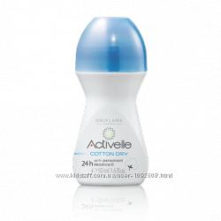 Шариковый дезодорант-антиперспирант 24-часового действия с натуральной пудр