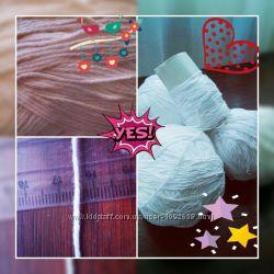 Продам остатки ниточек для вязания
