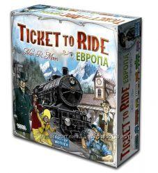 Настольная игра Билет на поезд Европа