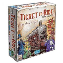 Настольная игра Билет на поезд Америка