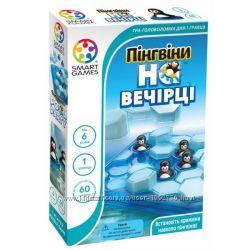 Настольная игра-головоломка Пингвины на вечеринке. Мини Пингвины