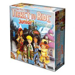 Настольная игра Билет на поезд Junior Европа