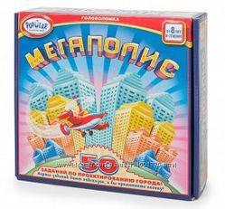Настольная игра-головоломка Мегаполис. Utopia
