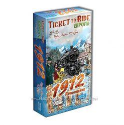 Настольная игра Ticket to Ride Европа 1912. Дополнение