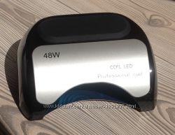 Лед лампа для ногтей 48вт черная