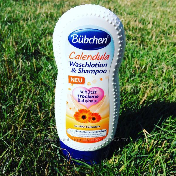 Шампунь- гель с детским лосьоном для мытья и душа Календула