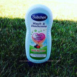 Крем гель для волос и тела младенцев Wild Berries с детским лосьоном