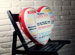 Подушка-сердце 3D