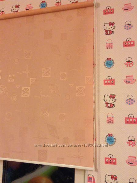рулонные шторы ткань в детскую IKEA по доступной цене