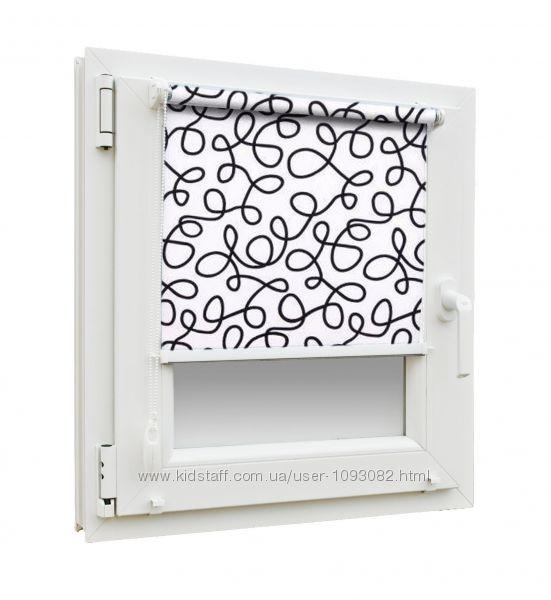рулонные шторы Геометрия
