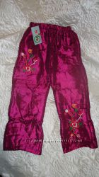 Новые  Тёплые, классные штанишки на девочку 2-4 года