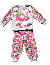 Размер 2года Хлопковая пижама с длинным рукавом, Украина