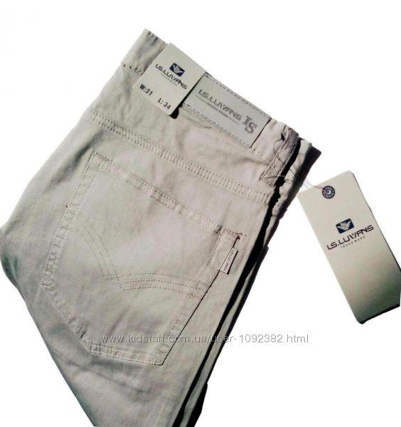 Размер W31 Летние мужские джинсы LS. Luvans