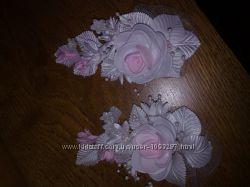 цветочки свадебные