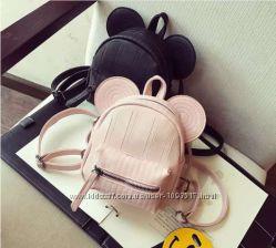 Мини рюкзак с ушками Микки Маус