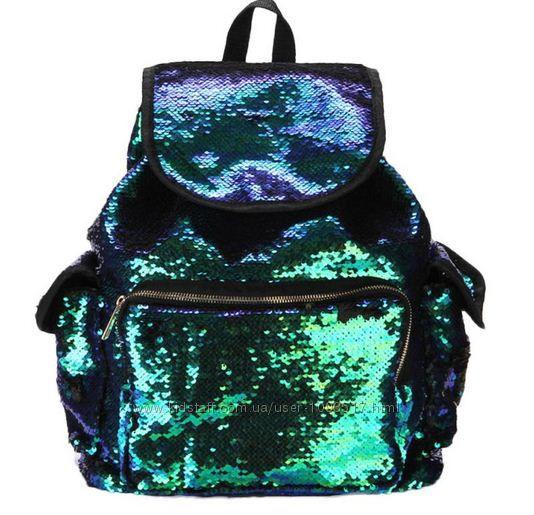 Рюкзак с пайетками большой, 659 грн. Рюкзаки женские купить Николаев -  Kidstaff   №23751516 a2ea9fddfff