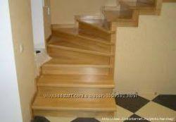 Изготовление лестниц, мебели из натурального дерева