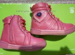 высокие деми ботинки сапожки Сапоги CLIBEE для малышки 13см стелька