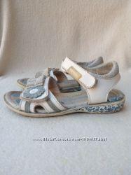 Классные кожаные босоножки сандали Flamingo Фламинго, р 28, ст. 18, 5см