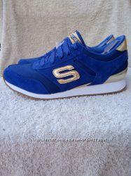 Новые замшевые кроссовки Skechers Gold Fever, р. 37, 5 и р. 38