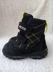 Отличное состояние ботинки Ecco gore-tex Экко, р. 20, ст. 12, 5см
