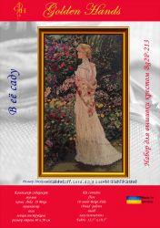 Набор для вышивки крестом В её саду