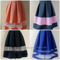 Красивые женские пышные юбочки  размеры и цвета в наличии