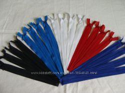 Продам потайные молнии 20 см, молнии электрик длина 25 см.