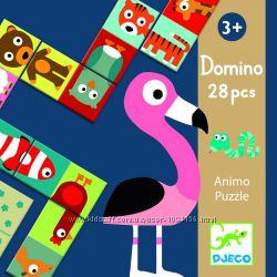 Игра Djeco Домино Сложи животное от 2 лет Акция -30 от цены